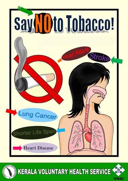 anti tobacco and no smoking